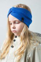 Трикотажная Повязка Магелллан, цвет синий, васильковый