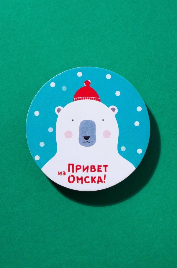 Магнит Мишка «Siberian story»
